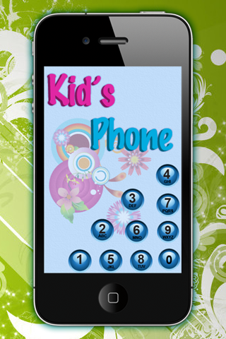 Screenshot Kid's Phone Dialer