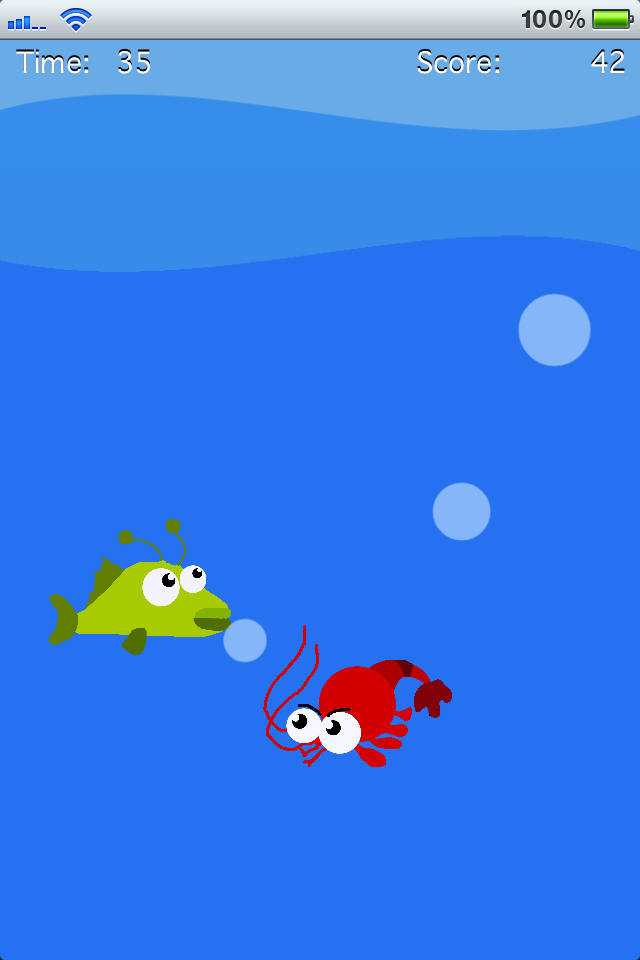 Screenshot Tap The Fish!